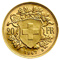 vrenelli Gouden munt